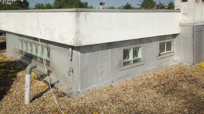 Pose de membrane tanch it toiture exemple r fection for Isoler une terrasse